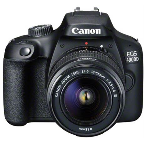 Canon EOS 4000D DSLR Body With EF-S 18-55mm III Lens Kit Image 1